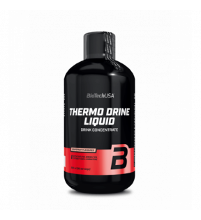 BiotechUSA Lipotrope en Thermogene formule - Thermo Drine Liquid 500ml