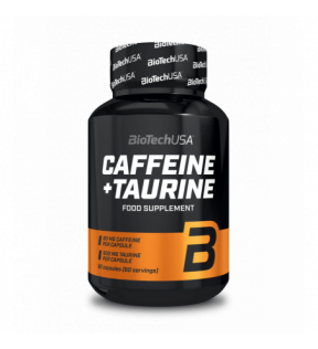 BiotechUSA - Pre Workout- Caffeine and Taurine 60 caps.