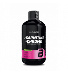 BiotechUSA  L-Carnitine - L-Carnitine+Chrome 500ml