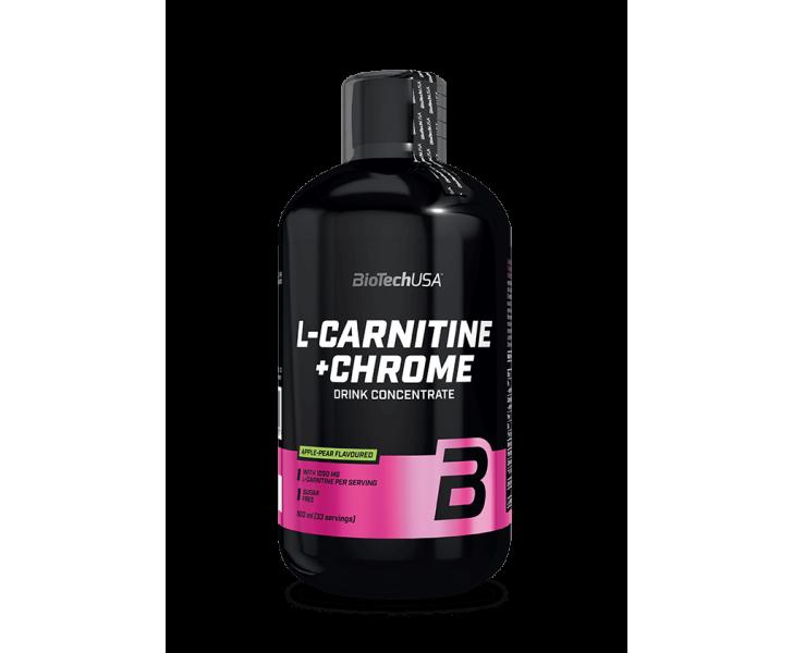BiotechUSA  L-Carnitine - L-Carnitine+Chrome 500ml