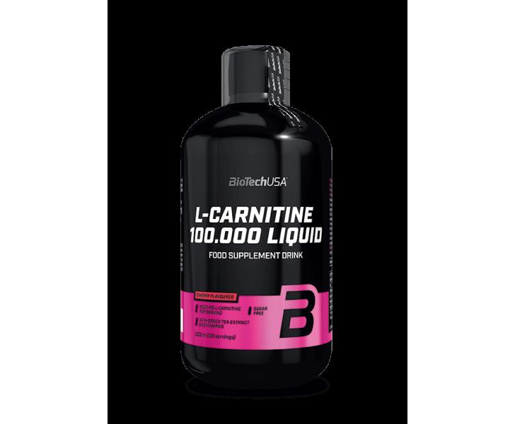 BiotechUSA - L-Carnitine - L-Carnitine 100.000 500ml