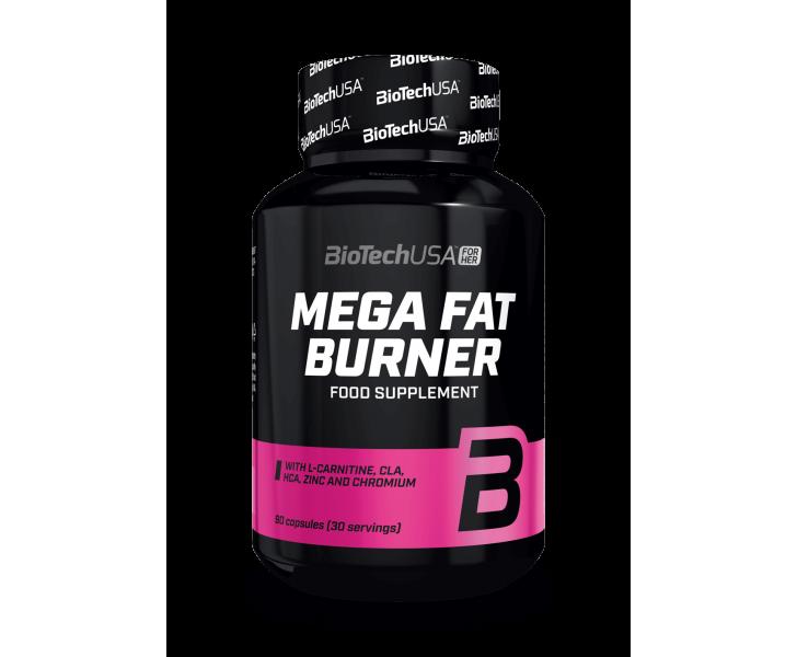 BiotechUSA Biotechusa For Her - Mega Fat Burner 90 tab.