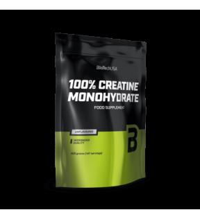 BiotechUSA Creatine - Creatine Monohydrate 500g bag