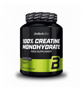 BiotechUSA Creatine - Creatine Monohydrate 1000g jar