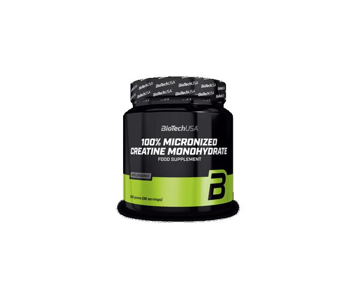BiotechUSA Creatine - Creatine Monohydrate 300g jar