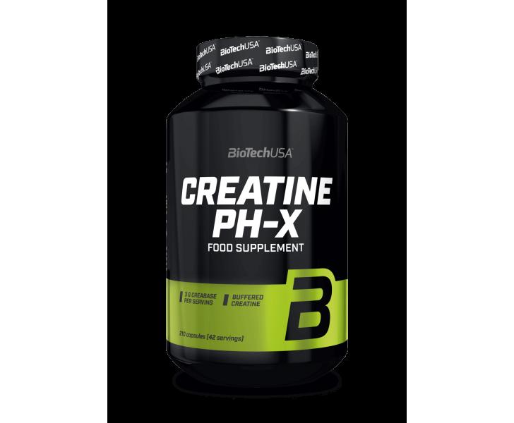 BiotechUSA Creatine - Creatine pH-X 210 caps