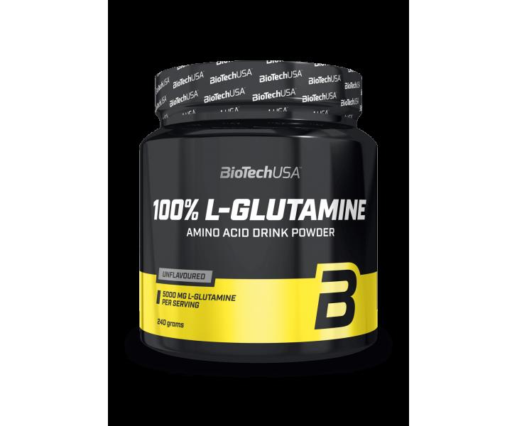 BiotechUSA Aminozuren - L-Glutamine 240g jar