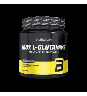 BiotechUSA Aminozuren - L-Glutamine 500g jar