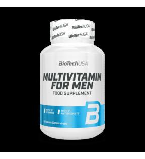 BiotechUSA Vitaminen en Mineralen - Multivitamin for Men 60 tab.