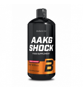 BiotechUSA Pre Workout - AAKG Shock Extreme 1000ml