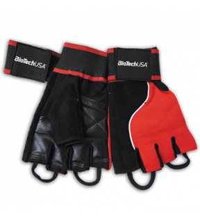 BiotechUSA Accessories - Memphis_1 Gloves,red-black XL (PK)