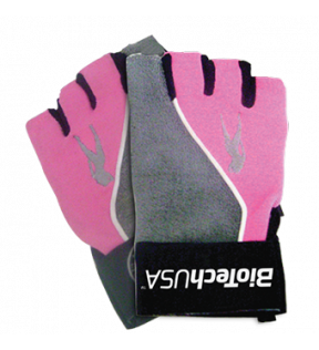 BiotechUSA Accessories - Lady2 L, gloves, grey-pink (PK)