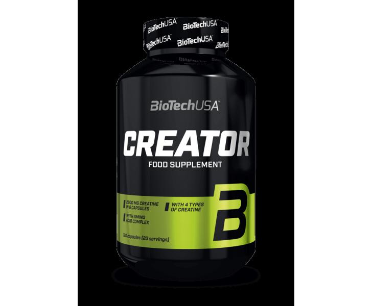 BiotechUSA Creatine - CreaTor 120 caps.