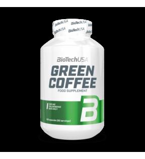 BiotechUSA Vitaminen en Mineralen - Green Coffee 120 caps.