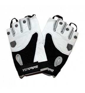 BiotechUSA Accessories - Texas Gloves white-black L (PK)