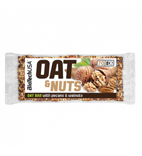 Oat and Nuts pecan