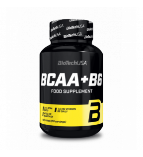 BiotechUSA Aminozuren - BCAA+B6 100 tab.
