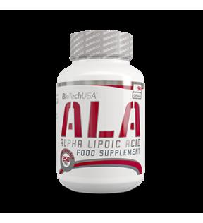 BiotechUSA Vitaminen en Mineralenx - ALA alpha lipoic acid 50 caps