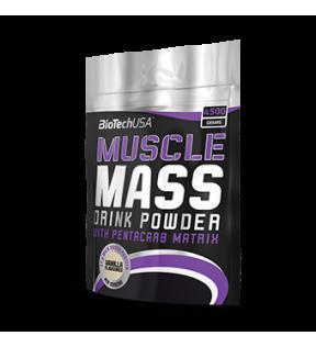 BiotechUSA Gainers en carbs - Muscle Mass 4000g jar