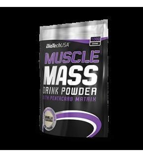 BiotechUSA Gainers en carbs - Muscle Mass 1000g