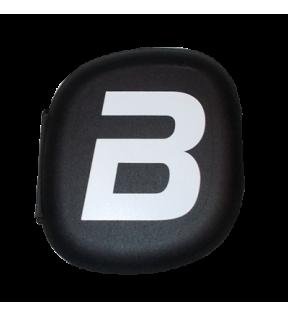 BiotechUSA Shaker, Plastic Fles - Pillbox BiotechUSA black