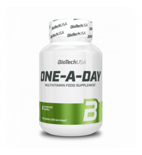 BiotechUSA Vitaminen en Mineralen - One a Day 100 tab