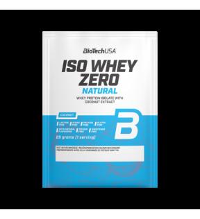 BiotechUSA Eiwit - Iso Whey Zero natural 25g