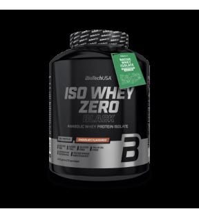 BiotechUSA Eiwit - Iso Whey Zero Black 2270g