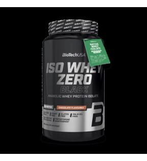 BiotechUSA Eiwit - Iso Whey Zero Black 908g