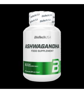 BiotechUSA Vitaminen en Mineralen - Ashwagandha 60 caps.