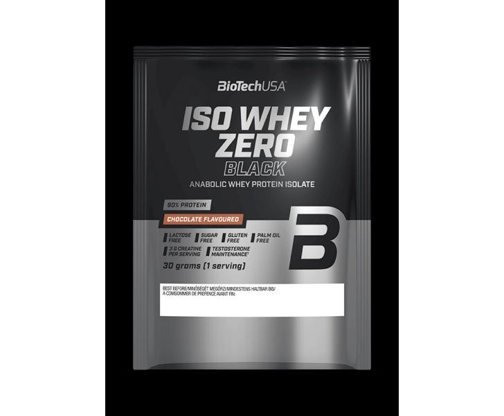 BiotechUSA Eiwit - Iso Whey Zero Black 30g