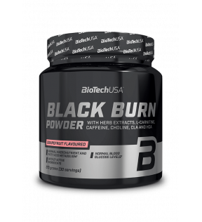 BiotechUSA Lipotrope en Thermogene formule - Black Burn poeder 210g