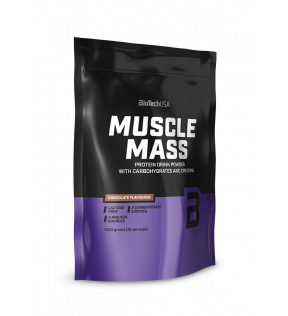BiotechUSA Gainers en carbs - Muscle Mass 1000g