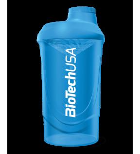 BiotechUSA Shaker, Plastic Fles - Shaker Biotech Wave 600ml