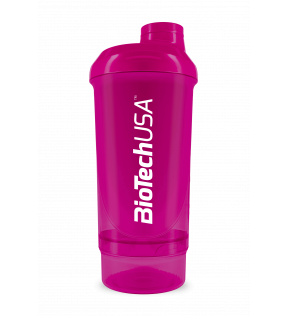BiotechUSA Shaker, Plastic Fles - Shaker 500ml+150ml
