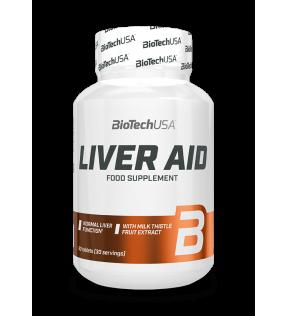 BiotechUSA Vitaminen en Mineralen - Liver Aid 60 tab.