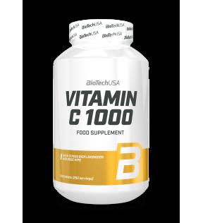 1000 mg vitamine C bioflavonoïde voedingssupplement tablet met rozenbottel, vlierbloesem en citroenschil poeder.