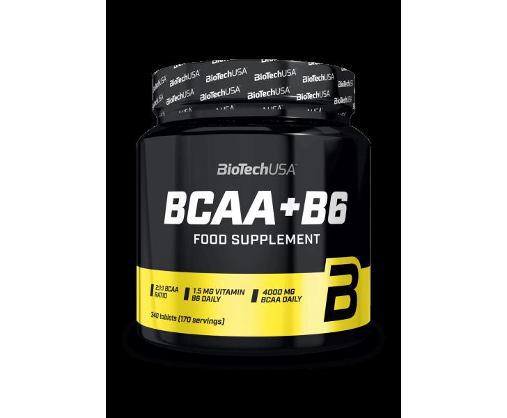 Bcaa's in enn verhouding van 2:1:1, in tabletvorm met vitamine b6.