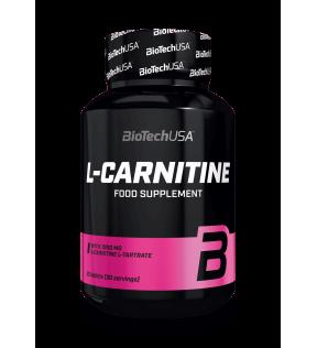 BiotechUSA L-Carnitine - 1000 mg l-carnitine