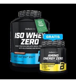 ISO WHEY ZERO 2270G+AMINO ENERGY ZERO 360G GRATIS