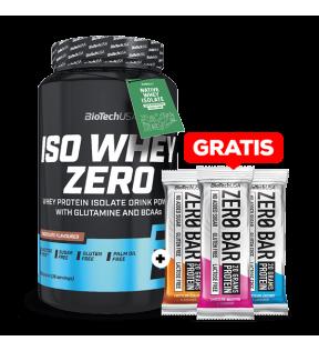 Iso Whey Zero 908g + 3stuks Zero Bar gratis