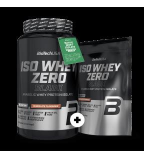 Iso Whey Zero Black 908g + 500g -50% korting
