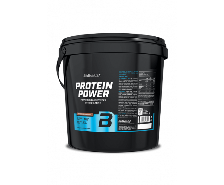BiotechUSA Eiwit - Protein Power 4000g