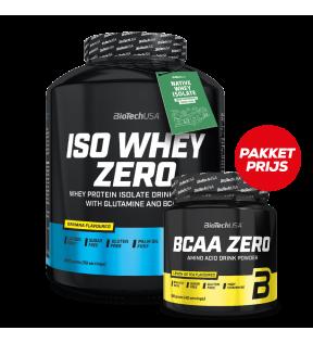 ISO WHEY ZERO 2270G + BCAA ZERO 360G GRATIS