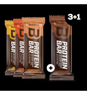 BiotechUSA Pakketten - Protein Bar 70g 3+1gratis