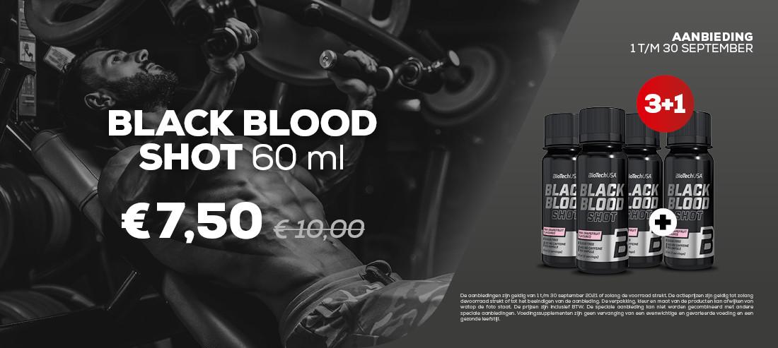 BLACK BLOOD SHOT 60ML 3 + 1 GRATIS